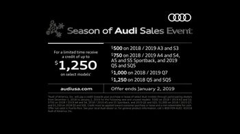 Audi Season of Audi Sales Event TV Spot, 'The Night Before Christmas 2.0' [T2] - Thumbnail 5