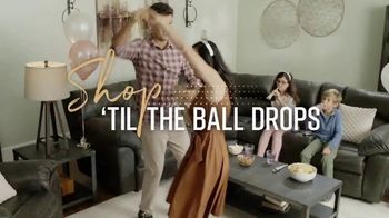 Ashley HomeStore New Year's Sale TV Spot, 'Shop 'Til the Ball Drops'