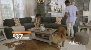 Ashley HomeStore New Year's Sale TV Spot, 'Shop 'Til the Ball Drops' - Thumbnail 3
