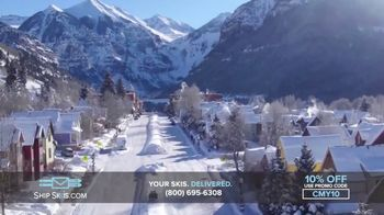 Ship Skis TV Spot, 'Your Skis And Snowboard Delivered' - Thumbnail 6