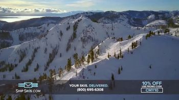 Ship Skis TV Spot, 'Your Skis And Snowboard Delivered' - Thumbnail 8