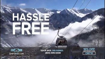 Ship Skis TV Spot, 'Your Skis And Snowboard Delivered' - Thumbnail 9