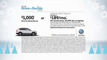 Volkswagen Drive to Decide Event TV Spot, 'Holiday Test Drive' [T2] - Thumbnail 6