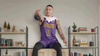 Budweiser TV Spot, \'Deck the Shelves With NBA Elves\' Featuring Kyle Kuzma, Steven Adams