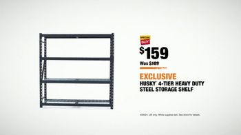 The Home Depot TV Spot, 'Storage Solutions: Storage Shelf' - Thumbnail 6