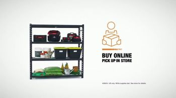 The Home Depot TV Spot, 'Storage Solutions: Storage Shelf' - Thumbnail 7