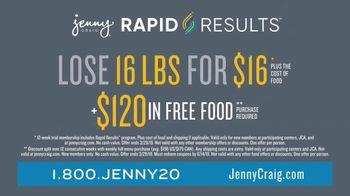 Jenny Craig Rapid Results TV Spot, 'Shiella: $120 in Free Food' - Thumbnail 9