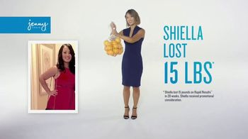 Jenny Craig Rapid Results TV Spot, 'Shiella: $120 in Free Food'