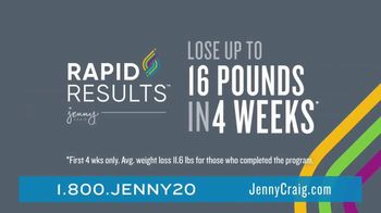 Jenny Craig Rapid Results TV Spot, 'Shiella: $120 in Free Food' - Thumbnail 4