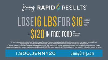 Jenny Craig Rapid Results TV Spot, 'Shiella: $120 in Free Food' - Thumbnail 7