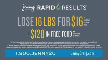 Jenny Craig Rapid Results TV Spot, 'Shiella: $120 in Free Food' - Thumbnail 8