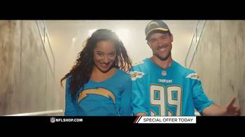NFL Shop TV Spot, 'Ravens and Chargers Fans' - 3 commercial airings