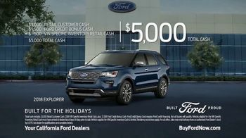 Ford Built for the Holidays Sales Event TV Spot, 'Do the Holidays' [T2] - Thumbnail 9