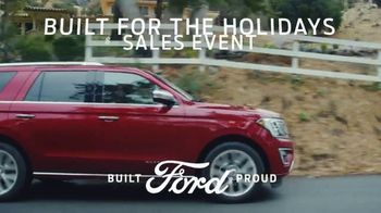 Ford Built for the Holidays Sales Event TV Spot, 'Do the Holidays' [T2] - 2 commercial airings