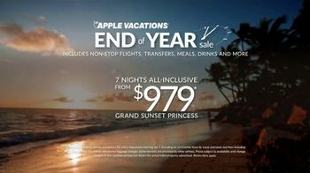 Apple Vacations End of Year Sale TV Spot, 'Soak up the Sun' - Thumbnail 8