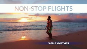 Apple Vacations End of Year Sale TV Spot, 'Soak up the Sun' - Thumbnail 6