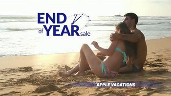 Apple Vacations End of Year Sale TV Spot, 'Soak up the Sun'