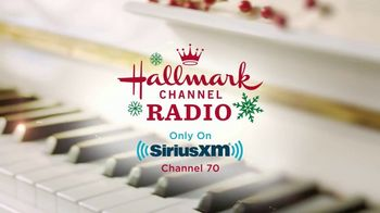 SiriusXM Satellite Radio TV Spot, 'Hallmark Channel Radio: Full Swing'
