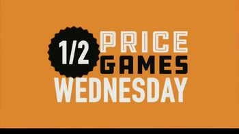 Dave and Buster's TV Spot, 'Half Price Games Wednesday: Now Open at 10 a.m.' - Thumbnail 9