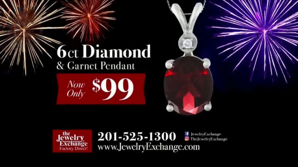 f17f355e3 Jewelry Exchange New Year's Week TV Commercial, 'Garnet the New Year's Jewel'  - iSpot.tv