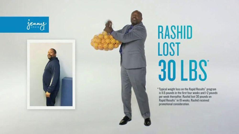Jenny Craig Rapid Results Tv Commercial Rashid Ispot Tv