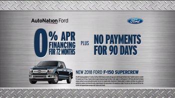 AutoNation New Year New Truck Event TV Spot, '2018 F-150' - Thumbnail 6