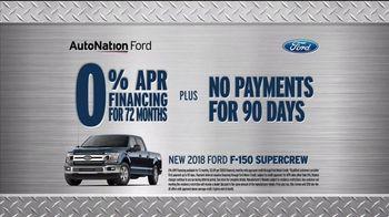 AutoNation New Year New Truck Event TV Spot, '2018 F-150' - Thumbnail 8