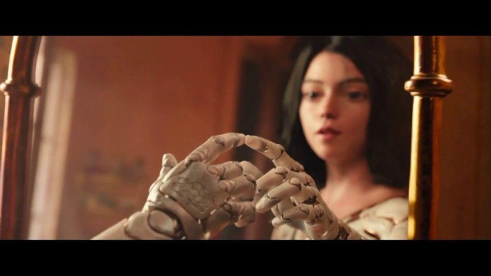 Alita: Battle Angel TV Movie Trailer