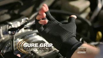 Copper Fit Compression Gloves TV Spot, 'Super Grip' - Thumbnail 1