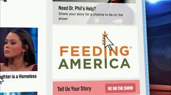 Feeding America TV Spot, 'Dr. Phil: Holidays' - Thumbnail 7