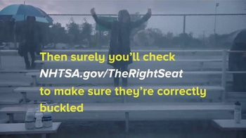 NHTSA TV Spot, 'The Right Seat: If You Love Them Enough: Soccer' - Thumbnail 8