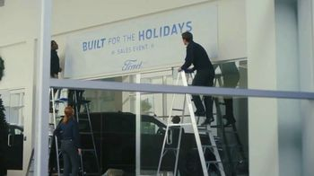 Ford Built for the Holidays Sales Event TV Spot, 'To-Do List' [T1] - 278 commercial airings