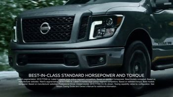 Nissan Year-End Event TV Spot, 'Titan of the Holidays' [T2] - 3 commercial airings