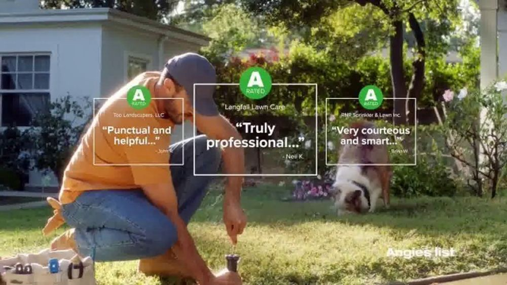 Angie's List TV Commercial, 'Bring the Best Pros Home with Angie'