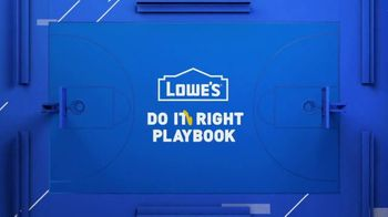 Lowe's Spring Black Friday Sale TV Spot, 'Do It Wright Playbook: Craftsman Trimmer' Feat. Jay Wright - Thumbnail 2