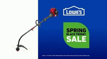 Lowe's Spring Black Friday Sale TV Spot, 'Do It Wright Playbook: Craftsman Trimmer' Feat. Jay Wright - Thumbnail 9