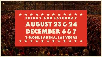 George Strait Strait to Vegas TV Spot, '2019 Las Vegas: T-Mobile Arena' - Thumbnail 5