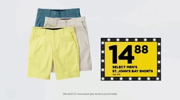 JCPenney TV Spot, 'Lowest Prices of the Season: Tops, Shorts and Towels' - Thumbnail 7