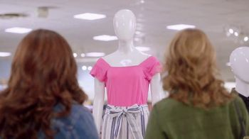 JCPenney TV Spot, 'ABC: Bare-Shouldered Top' Featuring Jenna Fischer, Katy Mixon - Thumbnail 1