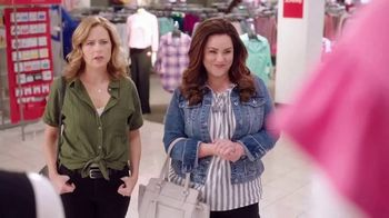 JCPenney TV Spot, 'ABC: Bare-Shouldered Top' Featuring Jenna Fischer, Katy Mixon
