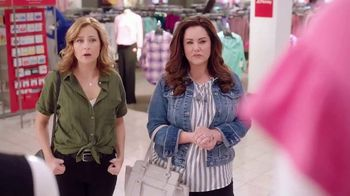 JCPenney TV Spot, 'ABC: Bare-Shouldered Top' Featuring Jenna Fischer, Katy Mixon - Thumbnail 6