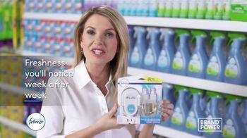 Febreze Plug TV Spot, 'Brand Power: 1,200 Hours of Freshness' - Thumbnail 10