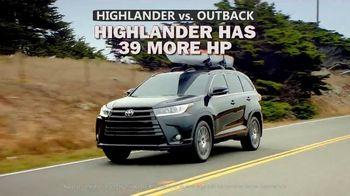 Toyota Highlander TV Spot, 'Comparison' [T2] - Thumbnail 4