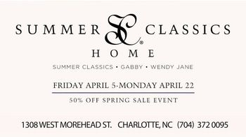 Summer Classics 50% Off Spring Sale TV Spot, 'Luxury Outdoor Furnishings' - Thumbnail 8