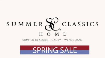 Summer Classics 50% Off Spring Sale TV Spot, 'Luxury Outdoor Furnishings' - Thumbnail 1