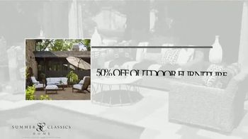 Summer Classics 50% Off Spring Sale TV Spot, 'Luxury Outdoor Furnishings' - Thumbnail 3