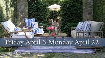 Summer Classics 50% Off Spring Sale TV Spot, 'Luxury Outdoor Furnishings' - Thumbnail 4