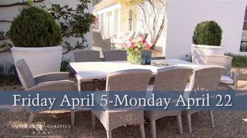 Summer Classics 50% Off Spring Sale TV Spot, 'Luxury Outdoor Furnishings' - Thumbnail 7
