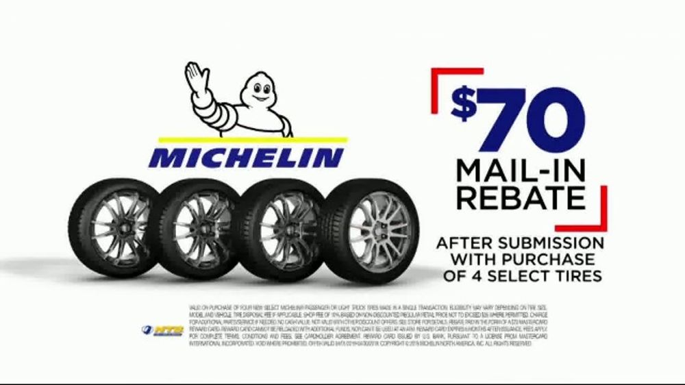 National Tire & Battery Big Brands Bonus Month TV Commercial, 'Detour: Tire Rebate'