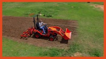 Kubota BX80 Tractor TV Spot, 'Built to Get Any Job Done'